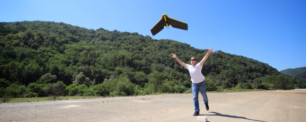 Fixed Wing UAV Perched Landing Technology in Development
